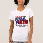 Never Knew A Hero 2 Brother (Support Our Troops) Tanktops