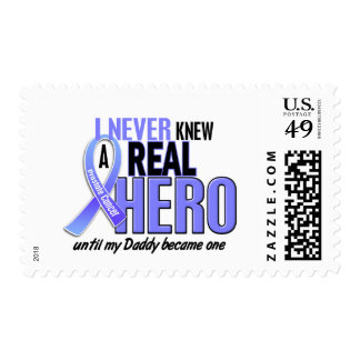 Never Knew A Hero 2 Daddy Prostate Cancer Stamp