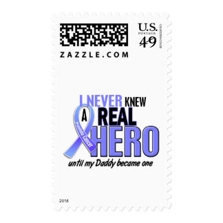Never Knew A Hero 2 Daddy Prostate Cancer Stamps