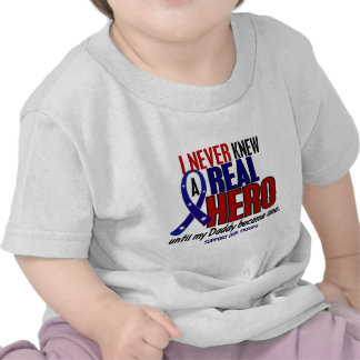Never Knew A Hero 2 Daddy (Support Our Troops) Tees