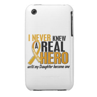 Never Knew a Hero 2 Daughter Appendix Cancer iPhone 3 Cover
