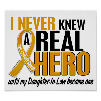 Never Knew a Hero 2 Daughter-In-Law Appendix Cance Posters