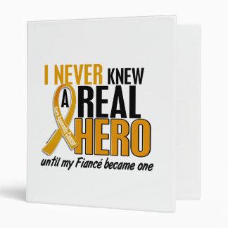 Never Knew a Hero 2 Fiance Appendix Cancer Vinyl Binders