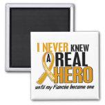 Never Knew a Hero 2 Fiancee Appendix Cancer Magnet