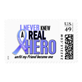 Never Knew A Hero 2 Friend Prostate Cancer Postage Stamp