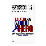 Never Knew A Hero 2 Girlfriend Support Our Troops Stamps