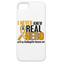 Never Knew a Hero 2 Goddaughter Appendix Cancer iPhone SE/5/5s Case