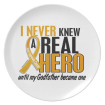 Never Knew a Hero 2 Godfather Appendix Cancer Plate