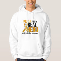 Never Knew a Hero 2 Godson Appendix Cancer Hoodie
