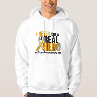 Never Knew a Hero 2 Godson Appendix Cancer Pullover