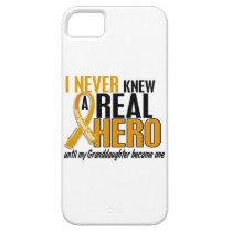 Never Knew a Hero 2 Granddaughter Appendix Cancer iPhone SE/5/5s Case