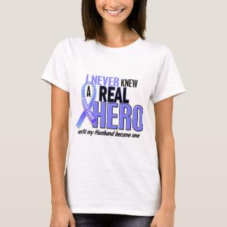Never Knew A Hero 2 Husband Prostate Cancer T-Shirt
