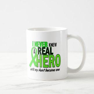 Never Knew A Hero 2 LIME GREEN (Aunt) Coffee Mug
