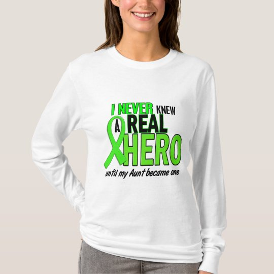 Never Knew A Hero 2 LIME GREEN (Aunt) T-Shirt