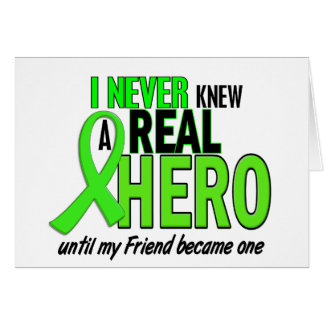 Never Knew A Hero 2 LIME GREEN (FRIEND) Card
