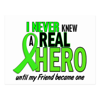 Never Knew A Hero 2 LIME GREEN (FRIEND) Postcard