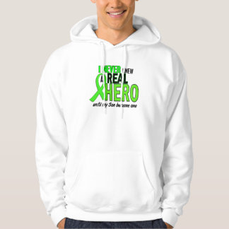 Never Knew A Hero 2 LIME GREEN (Son) Hooded Pullover