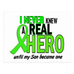 Never Knew A Hero 2 LIME GREEN (Son) Post Card