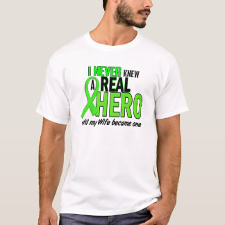Never Knew A Hero 2 LIME GREEN (Wife) T-Shirt