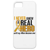 Never Knew a Hero 2 Mom Appendix Cancer iPhone SE/5/5s Case