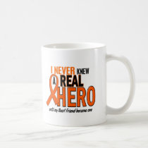 Never Knew A Hero 2 ORANGE (Best Friend) Coffee Mug