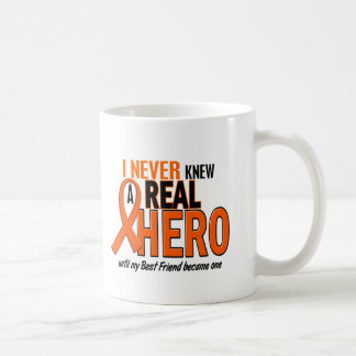 Never Knew A Hero 2 ORANGE (Best Friend) Coffee Mug