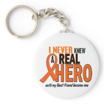 Never Knew A Hero 2 ORANGE (Best Friend) Keychain