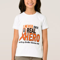 Never Knew A Hero 2 ORANGE (Brother) T-Shirt