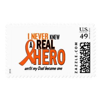 Never Knew A Hero 2 ORANGE (Dad) Postage