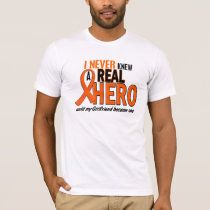 Never Knew A Hero 2 ORANGE (Girlfriend) T-Shirt