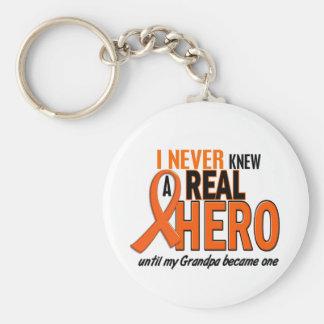 Never Knew A Hero 2 ORANGE (Grandpa) Keychain