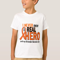 Never Knew A Hero 2 ORANGE (Grandpa) T-Shirt