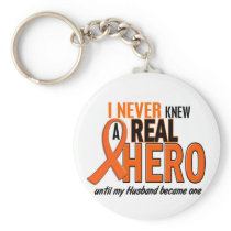 Never Knew A Hero 2 ORANGE (Husband) Keychain