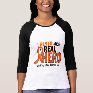 Never Knew A Hero 2 ORANGE (Mom) Tshirt