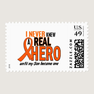 Never Knew A Hero 2 ORANGE (Son) Postage