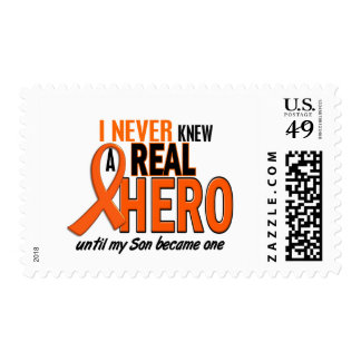 Never Knew A Hero 2 ORANGE (Son) Postage Stamps