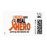 Never Knew A Hero 2 ORANGE (Son) Stamp