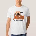 Never Knew A Hero 2 ORANGE (Wife) T-Shirt