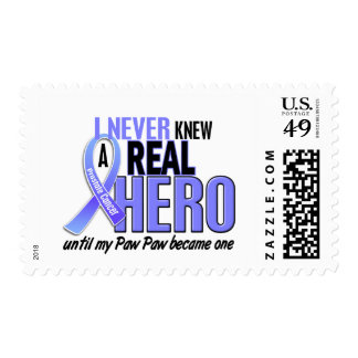 Never Knew A Hero 2 Paw Paw Prostate Cancer Postage