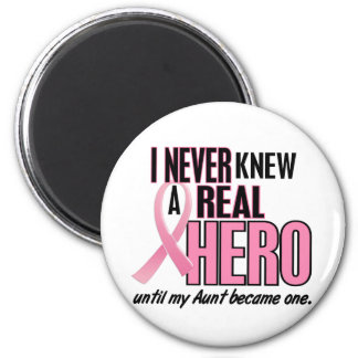 Never Knew A Hero 2 PINK (Aunt) Magnet