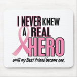 Never Knew A Hero 2 PINK (Best Friend) Mouse Pad