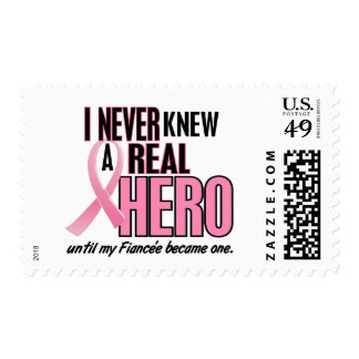 Never Knew A Hero 2 PINK (Fiancée) Postage Stamp