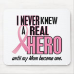 Never Knew A Hero 2 PINK (Mom) Mouse Pad