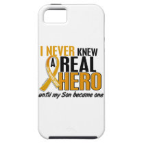 Never Knew a Hero 2 Son Appendix Cancer iPhone SE/5/5s Case