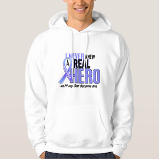 Never Knew A Hero 2 Son Prostate Cancer Hoodie