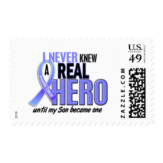 Never Knew A Hero 2 Son Prostate Cancer Postage Stamp