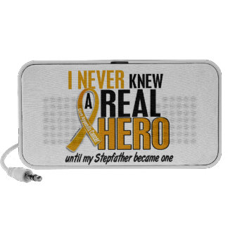 Never Knew a Hero 2 Stepfather Appendix Cancer Laptop Speaker
