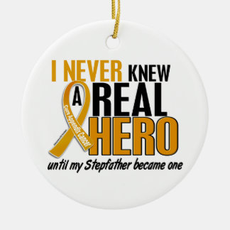 Never Knew a Hero 2 Stepfather Appendix Cancer Ornament