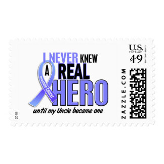 Never Knew A Hero 2 Uncle Prostate Cancer Stamp
