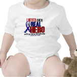 Never Knew A Hero 2 Uncle (Support Our Troops) Baby Bodysuit